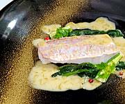 フランス料理コース魚料理イメージ