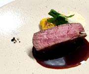 フランス料理コース肉料理イメージ